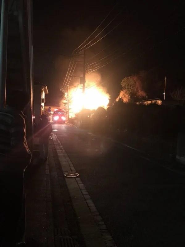神奈川県横浜市栄区元大橋2丁目 火事 2020年1月16日