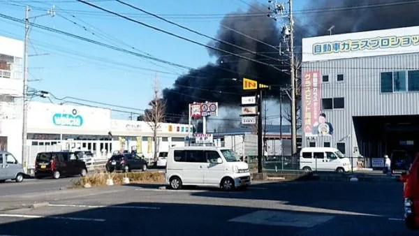 愛知県岡崎市赤渋町上池 火事  2020年1月21日