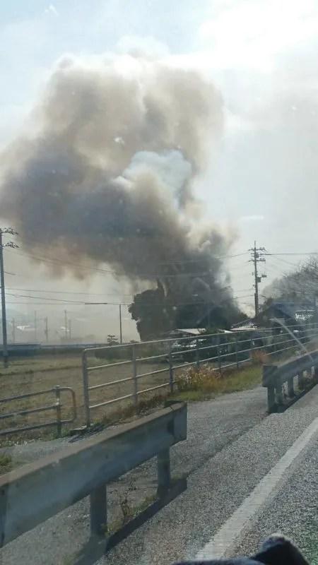 山口県下関市王司上町4丁目 火事 2020年1月21日