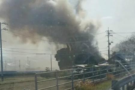 山口県下関市王司上町4丁目で火事 原因は?速報動画・画像2020年1月21日
