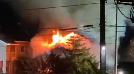 青森県八戸市東白山台 火事 2020年1月18日