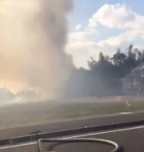 静岡県焼津市下江留で火事 原因は?速報動画・画像2020年2月5日