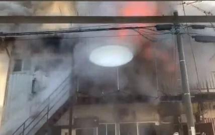 千葉県茂原市長尾 火事 2020年2月5日