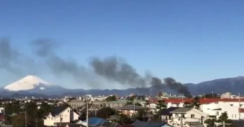 神奈川県茅ヶ崎市東海岸北4丁目 火事 2020年2月1日