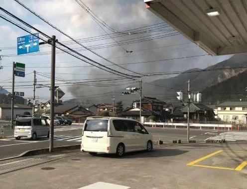 広島県広島市安佐北区深川 火事 2020年2月3日