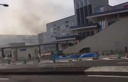 阪神甲子園球場 火事 兵庫県西宮市 2020年2月5日