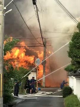 兵庫医科大学ささやま医療センター 丹波篠山市 山内町 火事