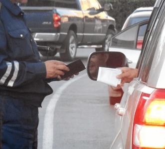 В Предгорном районе задержан водитель с признаками опьянения