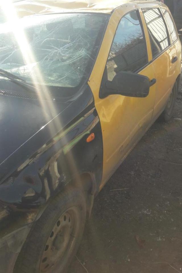 Такси перевернулось вблизи поселка Ясная Поляна на Ставрополье, пострадала женщина