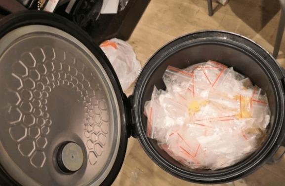 Мультиварка полная амфетаминов обнаружена в квартире