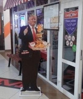 В Коми оштрафуют ресторан из-за того, что Трамп не одобрил их еду