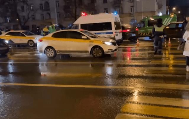 В Москве крупная авария из-за гололёда