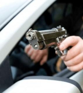 В Москве из-за дорожных разборок расстреляли машину