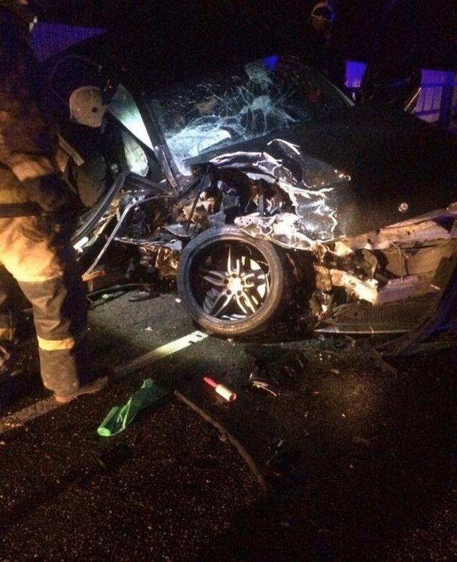 Супружеская пара погибла в жуткой аварии на Кубани