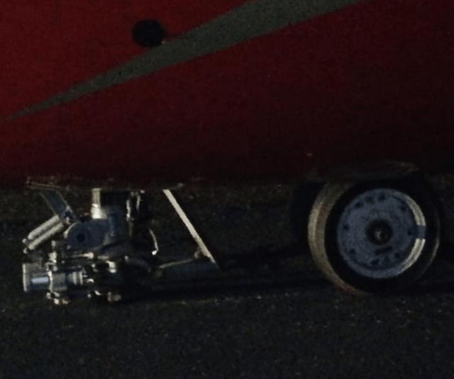 Стойка шасси сломалась во время посадки у самолета авиакомпании «Руслайн»