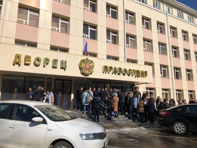 В Ставрополе эвакуировали людей из здания краевого суда