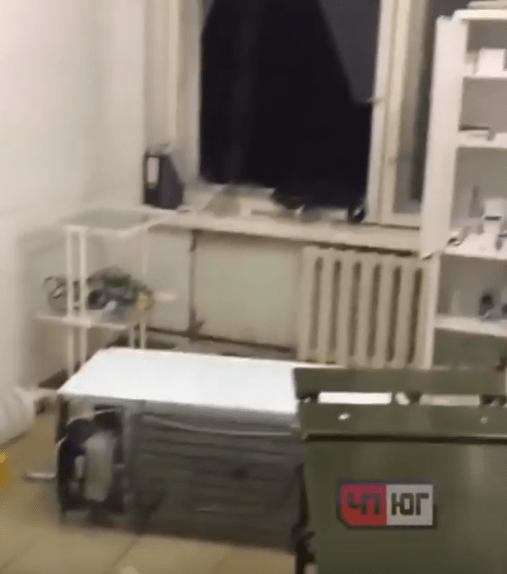Наркоман в поисках дозы разгромил помещение станции «скорой помощи» на Кубани