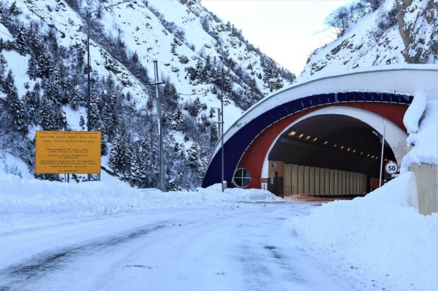 Транскам закрыт для движения транспорта в обоих направлениях