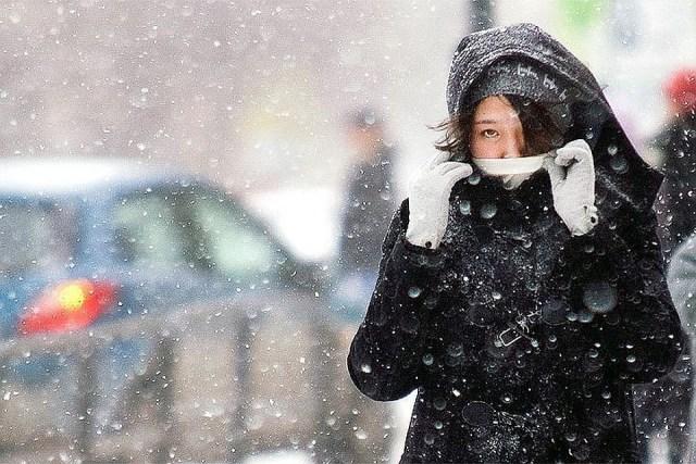 Шторм со снегом надвигается на Ставрополье