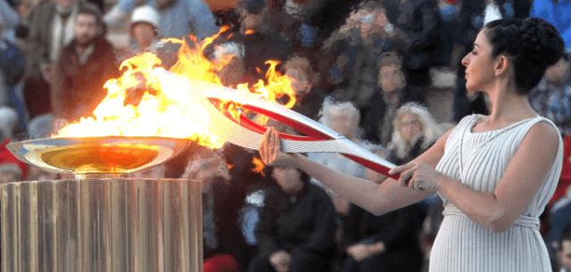 Церемония зажжения олимпийского огня в Греции пройдет без зрителей и журналистов