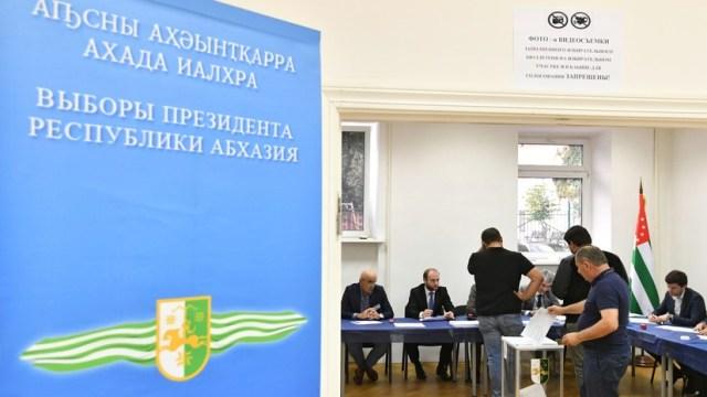 Нового Президента страны выбирают жители Абхазии