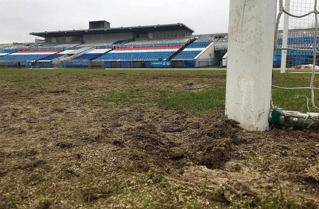 Матч «Шинник» - «Урал» перенесли из-за ужасного поля в Ярославле