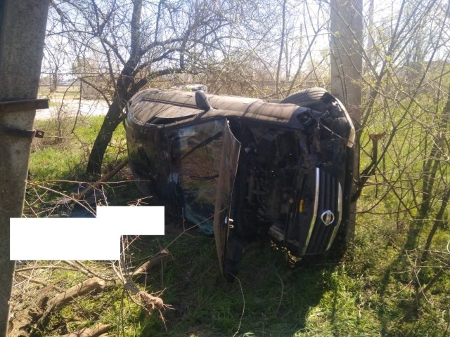 Лихач на «Ниссане» разбился в Буденновске