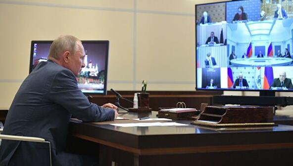 Путин дал поручение правительству по выходу страны из самоизоляции