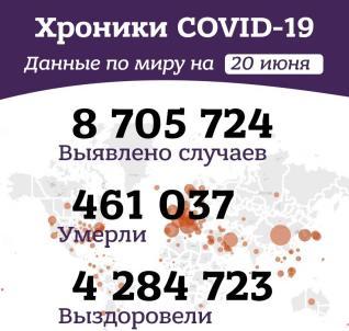 Вечерние хроники коронавируса в России и мире за 20 июня 2020 года