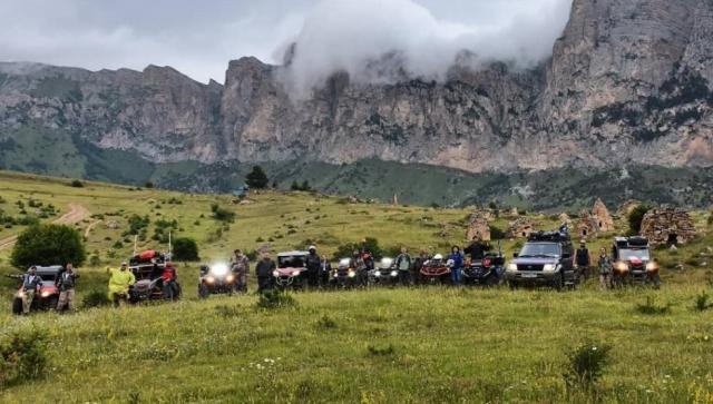 В Кабардино-Балкарии завершилась экспедиция на квадроциклах «От Казбека до Эльбруса»