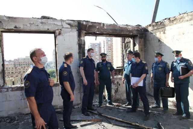 Новые квартиры предоставил погорельцам застройщик сгоревшего дома в Краснодаре