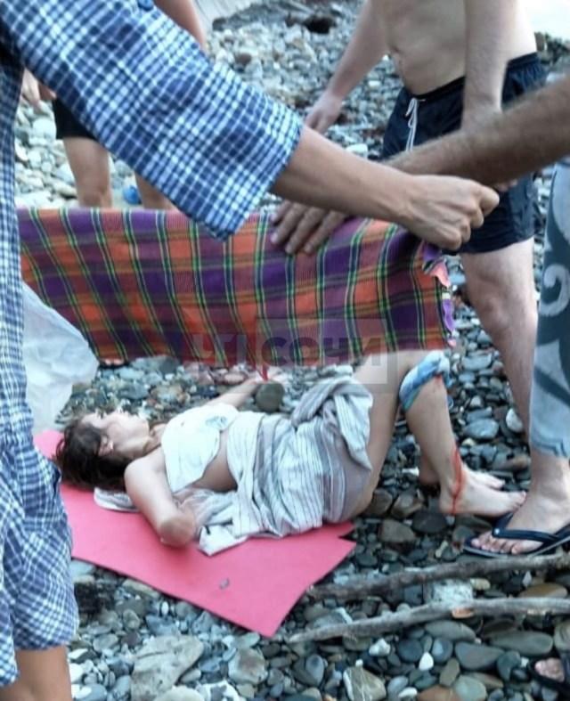 Из – за селфи на пирсе чуть было не погибла девушка в Сочи