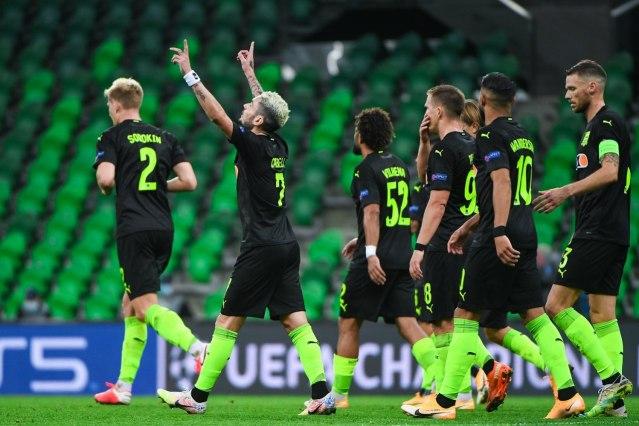 Футбольный клуб Краснодар вышел в групповой этап Лиги Чемпионов