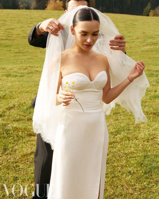 Певица Ольга Серябкина сыграла свадьбу в Австрии