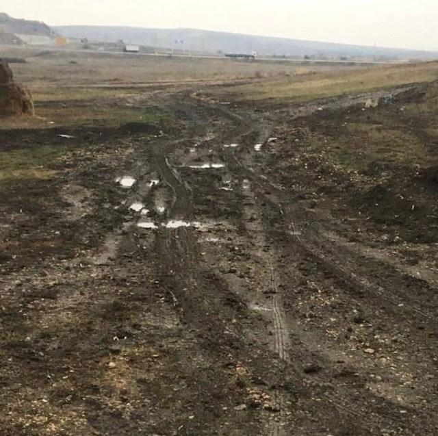 Жители села на Ставрополье пожаловались на состояние дороги