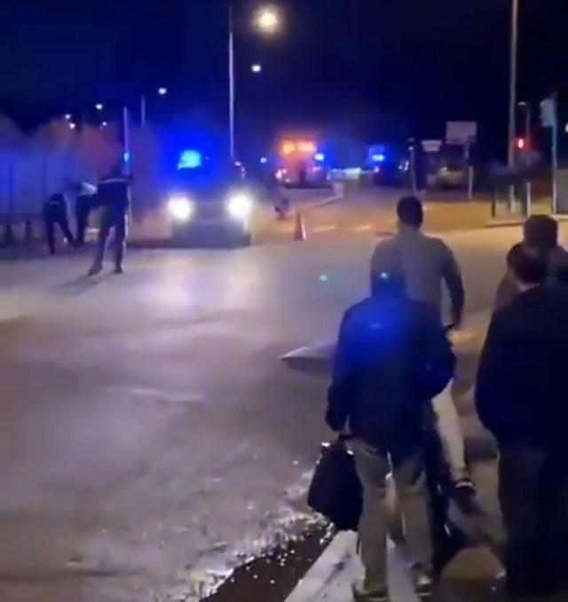 Захват заложников под Парижем