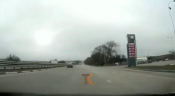 В крымском небе замечен падающий метеорит