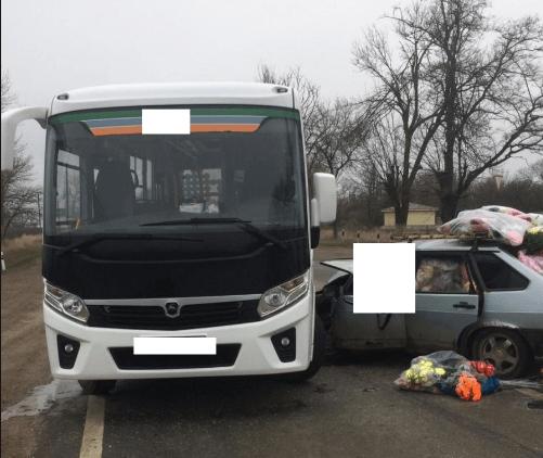 Пенсионерка погибла в ДТП с автобусом под Лермонтовым