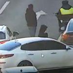 В Москве в аварию попал автомобиль актера Владимира Долинского
