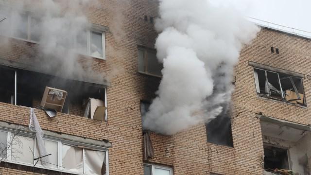 Три человека погибли во время взрыва дома в Подмосковье
