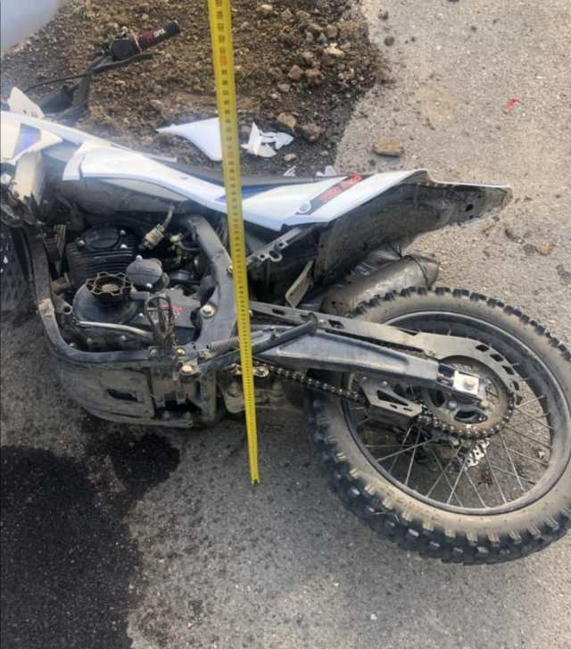 16-летний мотоциклист пострадал в ДТП на Ставрополье