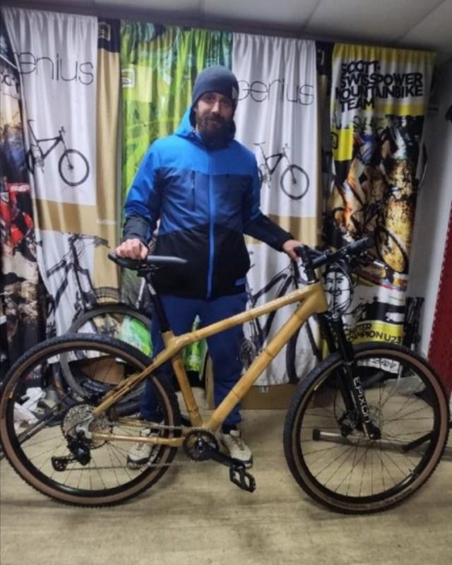 Ставрополец собрал велосипед из бамбука