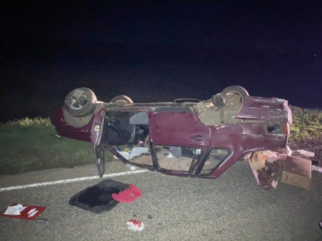 Три человека пострадали в аварии в Грачёвском округе