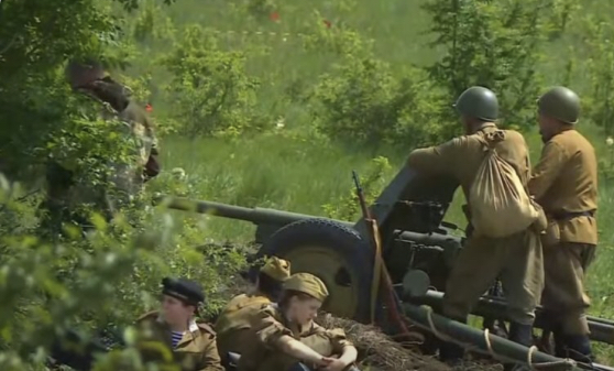 В Лермонтове реконструировали битву за Кавказ