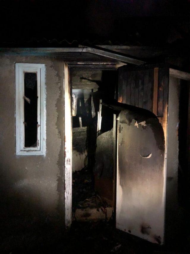 Пожар в частном доме произошёл на Ставрополье