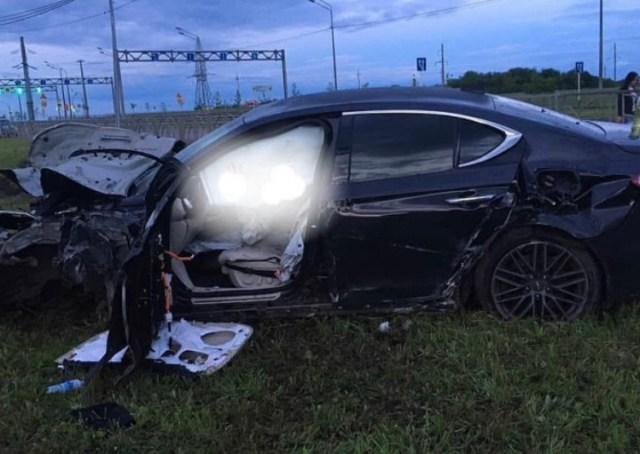 15-летний ставрополец устроил аварию на родительском автомобиле