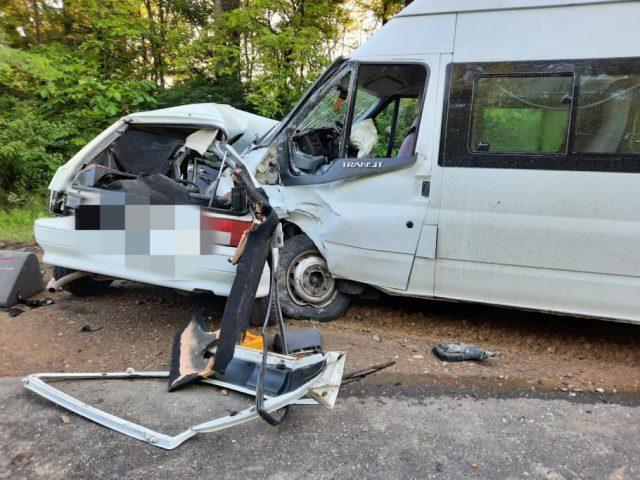 Жительница Пятигорска погибла в аварии с микроавтобусом