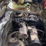 В Ставрополе проводка задымилась в автомобиле