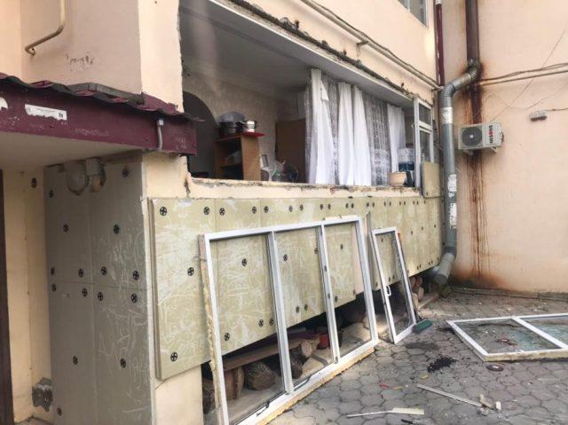 Хлопок газа произошёл в одной из многоэтажек Пятигорска