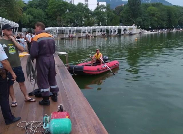 Парень утонул в озере Железноводска